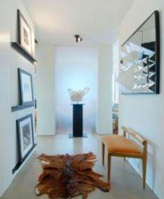 Recibidor - Apartamento de la actriz Jennifer Aniston en Nueva York.