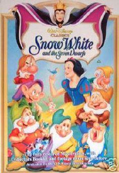 SNOW WHITE POSTER - 24 x 36 - FREE SHIPPING $15.00