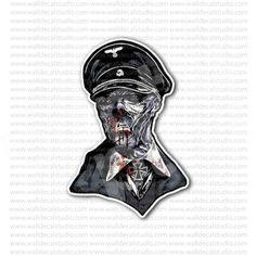 german soldier helmet skull sticker skulls stickers pinterest