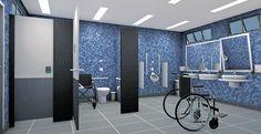 3 Sanitários públicos para cadeirantes | Infraestrutura Urbana