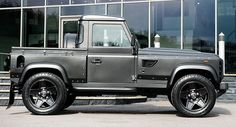 Kahn Makes A Hot Pickup Truck Out Of Land Rover Defender With Flying Huntsman 105