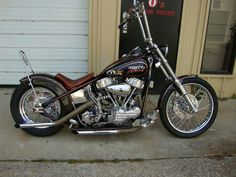 Panhead Chopper #motorcycle #chopper