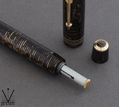 Parker Vacumatic Golden Pearl Standard, 1937 | Penarte - Fine Vintage Pens