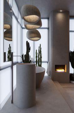 The Wabi Sabi Living Trend: What Makes Japanese Aesthetics .- Der Wabi Sabi Wohntrend: Was macht die japanische Ästhetik so reizvoll? Loft Interior, Best Interior Design, Interior Decorating, Zen Decorating, Decorating Bedrooms, Interior Concept, Decorating Websites, Luxury Interior, Interior Ideas
