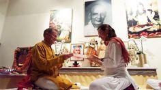 Sari, Yoga, Painting, Fashion, Saree, Moda, Fashion Styles, Painting Art, Paintings