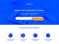 100 Daily Ui Landing Page