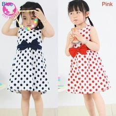 New Fashion Girls Wear Chiffon Dot Bowknot Birthday Party Dress Cute Casual Dress-in Dresses from Mother & Kids on Aliexpress.com | Alibaba Group