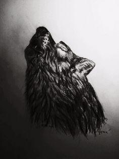 Moje kresba  Wolf <33
