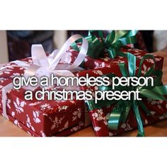 make someone less fortunate day