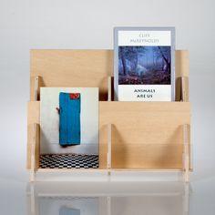 2 Tier Plywood Greeting Card Rack