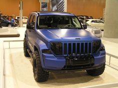 2005 Jeep Liberty Lift Kit   Mystery Jeep