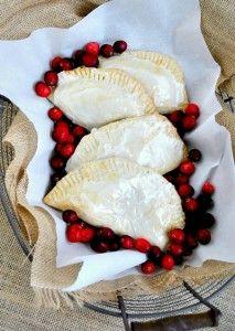 Cran-Raspberry And Apple Hand Pies