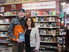 With Darren McEwan at Brittons book signing, April 5, 2014.