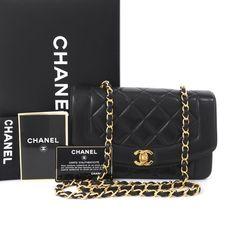 470ef34598b9 Chanel  Vintage Chanel Quilted Leather Flap CC Turn Lock Shoulder Bag