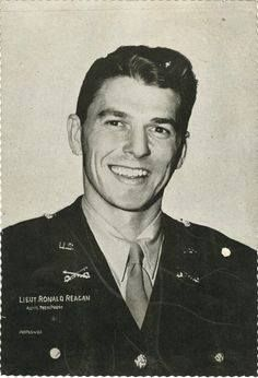Ronald Reagan's service in the US Army during WW2.