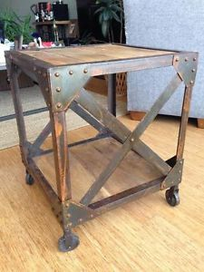 Post Industrial Side Tables