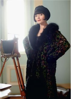 Essie Davis as Phryne Fisher Miss Fisher's Murder Mysteries 20s Fashion, Art Deco Fashion, Fashion History, Vintage Fashion, Fashion Outfits, Flapper Fashion, Miss Fisher, Style Année 20, 1930s Style