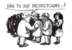 Sławomir Łuczyński - Pan tu nie protestował  Rysunkowy świat Sławomira Łuczyńskiego w Bibliotece na warszawskich Bielanach od 20.01 do 28.02.2014r. Wernisaż odbędzie się w piątek, 7 lutego 2014 r. o g. 18:00. http://artimperium.pl/wiadomosci/pokaz/129,moje-podworko-wystawa-rysunkow-slawomira-luczynskiego-w-bibliotece-na-bielanach#.Ut2b1BCtbIV