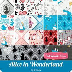 Alice in Wonderland Fat Quarter Bundle<BR>Disney for Camelot Cottons