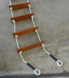 Climbing Rope Ladder - Swing Set and Playground Equipment | Kids ...