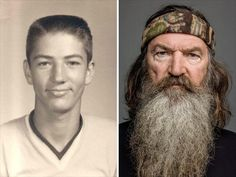 Duck Dynasty guys before their beards. Who knew?