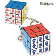 Mini Rubik's Cube Key Holder | Minimum order 100, $3.95 - $2.99 ea.