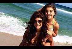 Bikini-clad Teresa Giudice has fun in the sun on the Jersey Shore