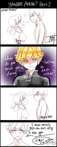 Next page: fav.me/dbmxs9b First page: fav.me/dbmvtmq I decided to continue It upon recommendation from my friends in the artists group chat on the Ladybug amino. :3 It will keep it's messy art styl...