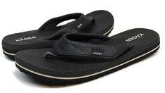 40bff9f3d49099 Women s Kagen Yoga Mat Black Medium Width Thongs Sandals Flip Flops Size 6   fashion