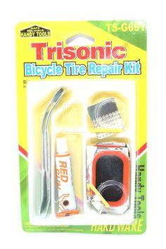 Trisonic Bicycle Tire Repair Kit