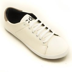 Coup d  etat Clean Cut  89 Women Sneakers White With Gray Heel - elevenia 70ce3d0f78