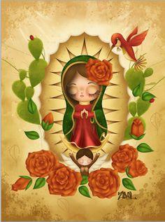 Zepol Ilustradora: Virgen