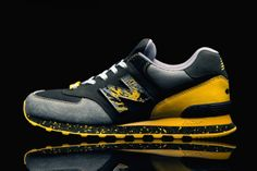"""Shelflife x Dr.Z x New Balance 574 """"City of Gold"""" 
