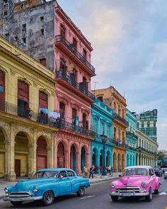 Havana, Cuba by Cuba Photography, World Photography, Places To Travel, Travel Destinations, Places To Visit, Trinidad, Havanna Cuba, Les Bahamas, Puerto Rico