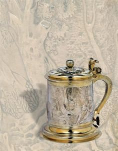 A lidded tankard from St Petersburg,