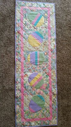 Mom's Easter table runner