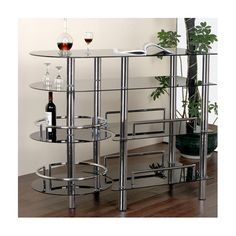 Found it at Wayfair - Bar with Wine Storage