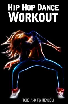 Slim down while getting down! Killer hip-hop dance workout on Tone-and-Tighten.com