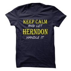Keep Calm and Let HERNDONHandle It TA
