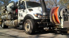 An International WorkStar Vactor unit used by the city of Northport, Ala.