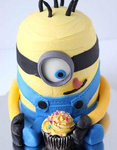 3D Minion Cake Tutorial