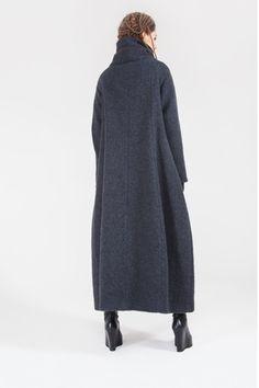 Купить Пальто Трапеция-шерсть длинное на подкладке от Lesel (Лесель)