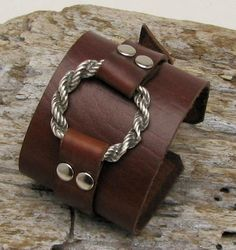 FREE SHIPPING  Women's leather bracelet Handmade by eliziatelye, $25.00