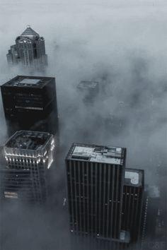 azearr:  Seattle Fog