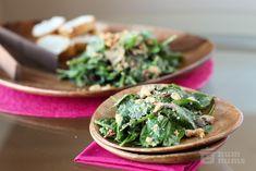cha cha cha's warm spinach salad