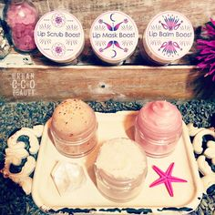 Pure Me Collection of Organic Skin and body Products by Urban Eco Beauty / Organic Handmade fresh to order. / Lip Kit / Lip Scrub, Lip Mask, Lip Balm / #UrbanEcoBeauty #PureMe / #handmade #organic #organicskincare #natural #naturalskincare #lipkit #makeup #lipmask #lipscrub #lipbalm #pink #handmadeskincare #skin #lips