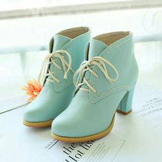 Minty boots  ❤❤♥For More Follow On Insta @love_ushi OR Pinterest @ANAM SIDDIQUI ♥❤❤