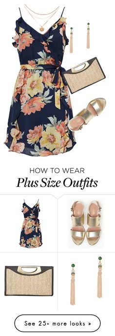 """""""Plus size beach resort wedding date"""" by xtrak on Polyvore featuring Joie, Calvin Klein, Max&Co. and Lizzie Fortunato"""