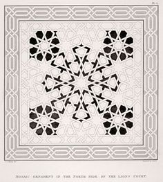 Mosaic ornament - Alhamra