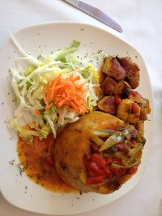 """See 4 photos and 3 tips from 41 visitors to Nativa Sauce. """"Excellent restaurant around the corner from the hilton caribe. Try trofongo w pork and. Sauce, Tacos, Pork, Restaurant, Chicken, Ethnic Recipes, San Juan, Kale Stir Fry, Diner Restaurant"""